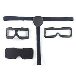 MyXL Skyzone 3D FPV Bril Gezicht Plaat Bril Slaapmasker w/Hoofdband voor Cozier Dragen Vervanging Deel