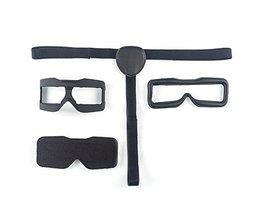 Skyzone 3D FPV Bril Gezicht Plaat Bril Slaapmasker w/Hoofdband voor Cozier Dragen Vervanging Deel