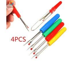 CIASSTHREE 4 Stks Plastic Handvat Craft Draadafsnijder Tornmesje Stitch Unpicker Naaien Tool