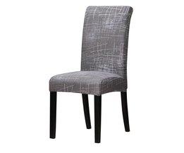 Europa stijl Afdrukken Stretch Stoelhoezen elastische stoel cover kerstcadeau voor banket Hotel thuis eetkamer bruiloft decoratie