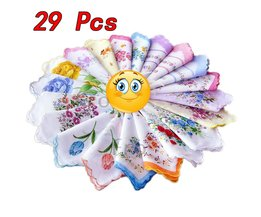 29 Stuks Cutter Dames Craft Vintage Hanky Bloemen Zakdoek