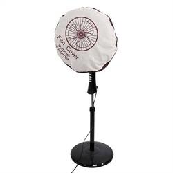 MyXL 48 cm non-woven Elektrische Ventilator Cirkel Stofkap Bescherming Cap Stofdicht Ronde Baby Veiligheid Ventilatordeksel Opbergtas Organizer