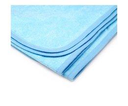 PHFU 2x100% Katoen Cotbed Voorzien Platte Waterdichte Lakens 100 cm x 140 cm voor Baby Bed