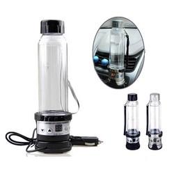 MyXL 12 V 24 V 75 W Auto Waterkoker 280 ML Auto Verwarming Cup reizen Verwarmde Cup Boiler Voor Koffie Thee Mok Zwart/Zilver