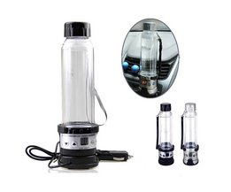 12 V 24 V 75 W Auto Waterkoker 280 ML Auto Verwarming Cup reizen Verwarmde Cup Boiler Voor Koffie Thee Mok Zwart/Zilver