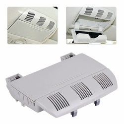 MyXL DWCX ABS Plastic Grey Zonnebril Bril Opbergdoos Houder Case 1Z0868565E voor Skoda Octavia Fabia Roomster 2007 2008 2009-