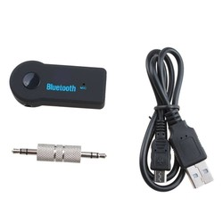 MyXL Bluetooth Auto Handfree Kit 3.5mm Streaming A2DP Stereo Draadloze AUX Audio muziek Ontvanger MP3 USB BT V3.0 Speler voor telefoon pad pc