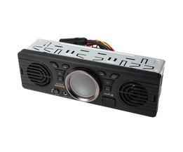 AV252B 12 V USB TF Bluetooth 2.1 + EDR Auto Audio Mp3-speler Elektronica In-dash Auto Stereo FM Radio Met 2 luidsprekers