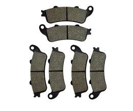 Motorfiets onderdelen voor & remblokken discs kit voor honda st1100a ST1100 Een ABS 1996-2002 ST1300 ABS & Non ABS 02-07 Pad Disc
