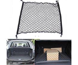 120x100 cm Styling Boot String Tas Elastische Auto SUV Truck Achter Cargo Netto Opbergtas Bagage Organizer Haak Pouch nylon