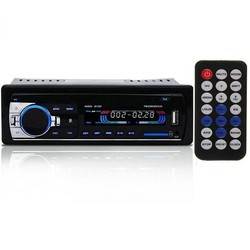 MyXL JSD520 Autoradio Mp3-speler Bluetooth V2.0 Stereo In-dash 1 Din FM Aux-ingang Receiver SD USB MP3 MMC WMA Autoradio Speler