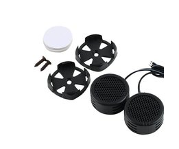 Universele Hoge Efficiëntie 2x Auto Mini Dome Tweeter Luidspreker Luidspreker Super Power Audio Auto Sound Drop