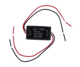 Flash Strobe Controller Flasher Module Voor Knipperende LED Back Rear Brake Stop Light Lamp 12--24V Auto-accessoires