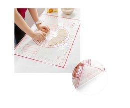 60*40 CM Non-stick Siliconen Bakken Mat Kneden Pad Sheet Glasvezel Rolling Deeg Grote Maat voor Cake Macaron Keuken Tool