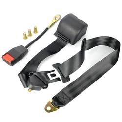 MyXL 1 x Universele 3 Punt Autogordels Auto Singels Gesp veiligheid Gordel 3.2 m Intrekbare Extension Autostoeltje Heupgordel Kit