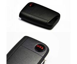 2 stks sleutelhanger logo classical gti embleem fit vw sleutel MK7 Golf7 gti