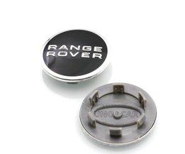 4 stks/partij 63mm Wielnaafafdekkingen Cover Emblem Voor Land Rover RANGE ROVER LR3 LR4 RANGE LAND ROVER Sport 2.5 inch
