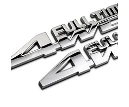 Auto Styling 4WD volledige tijd badge auto-accessoires voor Jeep Rubicon Kompas Auto Decal Auto Decor Auto Styling