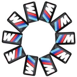 MyXL 10 xtec sport wheel badge 3d emblem sticker decals logo voor b-mw m serie M1 M3 M5 M6 X1 X3 X5 X6 E34 E36 E6 auto styling stickers