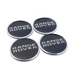 MyXL 4 stks/partij 62mm wielnaafafdekkingen cover embleem voor land rover range rover lr3 lr4 range land rover sport emblem