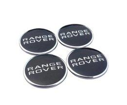 4 stks/partij 62mm wielnaafafdekkingen cover embleem voor land rover range rover lr3 lr4 range land rover sport emblem
