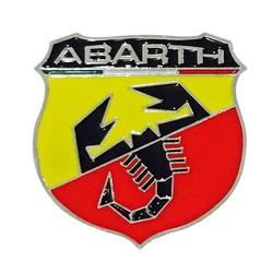 MyXL 1 stks Auto Styling 3D Metalen Auto sticker Schorpioen Emblemen Voor Auto Accessoires Abarth Sticker Auto Abarth Decal Lijm Badge