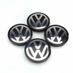 MyXL OEM Hub Logo Embleem 55mm Naafdeksel Cover voor VW Golf Jetta Passat GTI R32 Bora 6N0601171