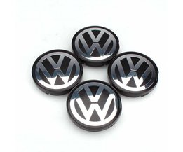 OEM Hub Logo Embleem 55mm Naafdeksel Cover voor VW Golf Jetta Passat GTI R32 Bora 6N0601171