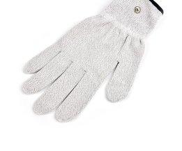 2 stks/paar Elektrode Handschoenen Elektrische Shock Fiber Therapie Massage, Electro Shock Handschoenen Elektriciteit Geleidende Handschoenen