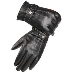 MyXL Mannen Black Winter Lederen Handschoenen Sport Driving Touchscreen Handschoenen Mannelijke Militaire leger guantes tacticos ST012