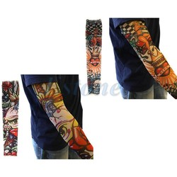 MyXL 10 STKS Fake Tijdelijke Party Tattoo Slip op Mouwen Body Art Arm Covers Kousen Kerstcadeaus