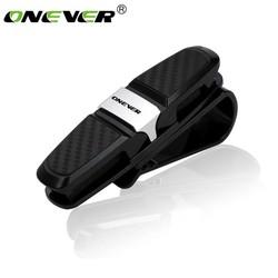 MyXL Onever Auto Glazen Houder Draagbare Fastener Clip Zonneklep Brillen Opslag Gevallen Zonnebril Ticket Visitekaarthouder Clip