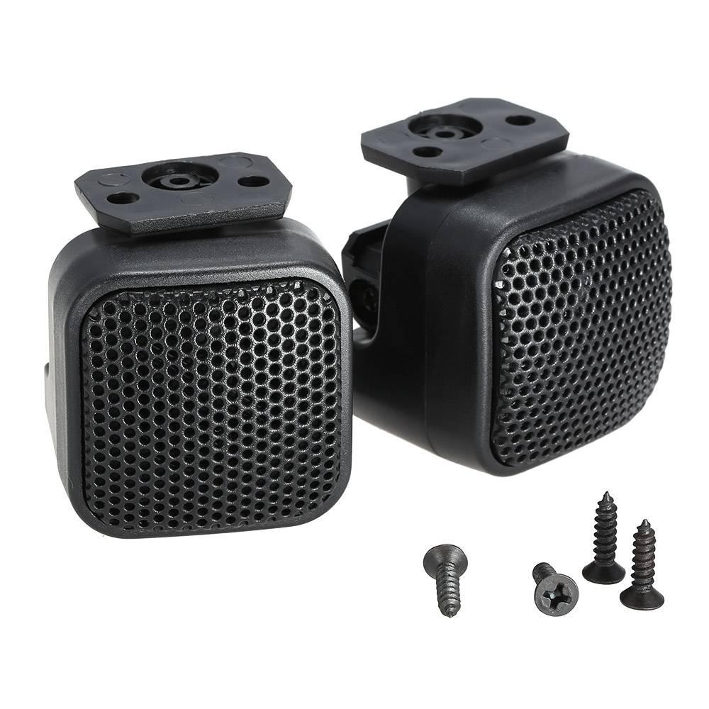 Een Paar Super Power Luid Audio Vierkante Ontwerp Speaker Tweeter voor Auto Auto
