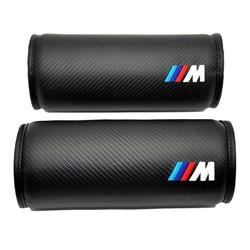 MyXL 2 xCar Styling Voor Auto BMW M Lederen Nekkussen Hoofd Neksteun Kussen Hoofdsteun Kussen M Prestaties