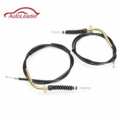 MyXL Paar Auto Voorrem Kabel Set Voor Suzuki LT80 LT 80 Quadrunner/Quadsport 1999-2001