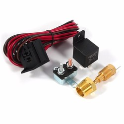 MyXL Auto-Styling 1 Set 4 pins Auto Schakelaar Sensor 175 ~ 185 Graden Motor Koelventilator Thermostaat Temperatuur Relais Kit