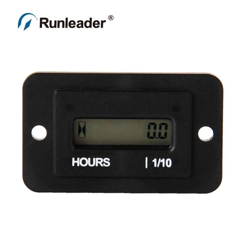 RL-HM010 DC4.5-90V RL-HM010 Zwarte DIGITALE LCD urenteller teller voor ATV Sneeuwscooter Boot Generator LANDBOUWMACHINES DC 12 V