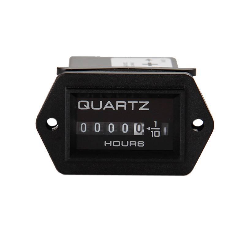 99999.9 snap in Vehicle Boot Vrachtwagen Motorfiets mechanische Urenteller Ophopen timer teller voor generator DC 12-40 V