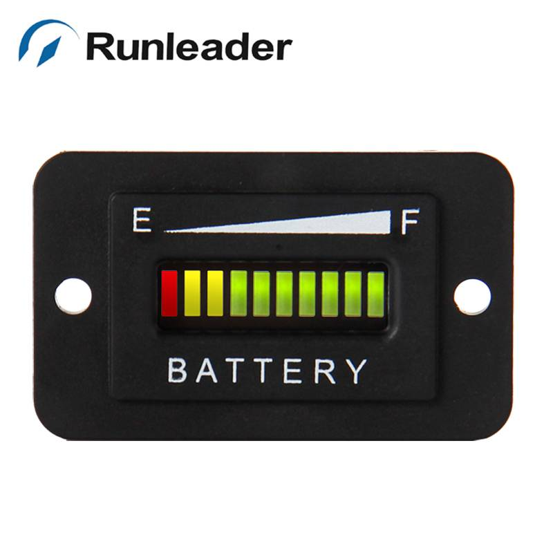 RL-BI003 lood-zuur opslag batterij 12 V 24 V LED Batterij Niveau Indicator voor Golf Kart Truck Elektrische Voertuig Auto