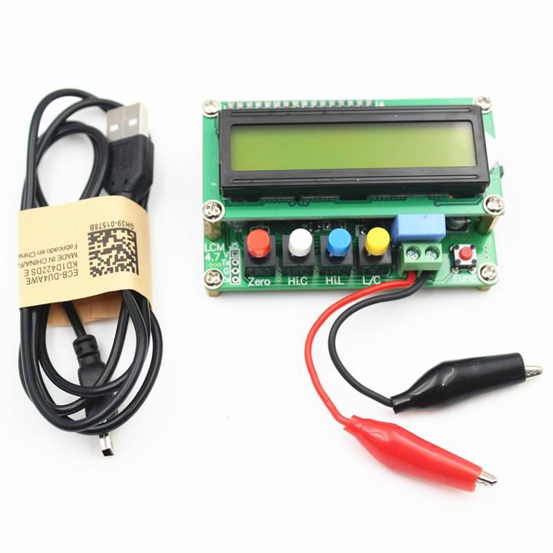 LC100-A Digitale LCD Hoge Precisie Inductantie capaciteit L/C Meter Condensator Test Instruments