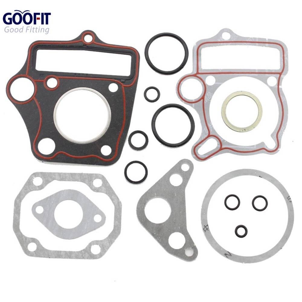 GOOFIT 50cc Compleet Pakkingset voor ATV Crossmotor Go Kart Scooter Bromfiets K078-027