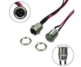 Power Knop Opladen Lader Port Repalcement Kabel Kit voor Elektrische zelfbalancerende Scooters Hoverboard