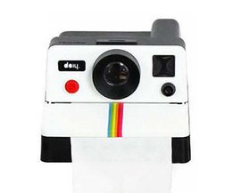 Leuke Ontwerp 1 Stuk Auto Tissue DozenRetro Polaroid Camera Vorm Geïnspireerd Tissue Dozen HG1808