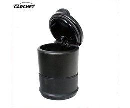 CARCHET Auto Asbak Universele Reis Draagbare Hittebestendige Auto Bekerhouder Sigaretten Houder