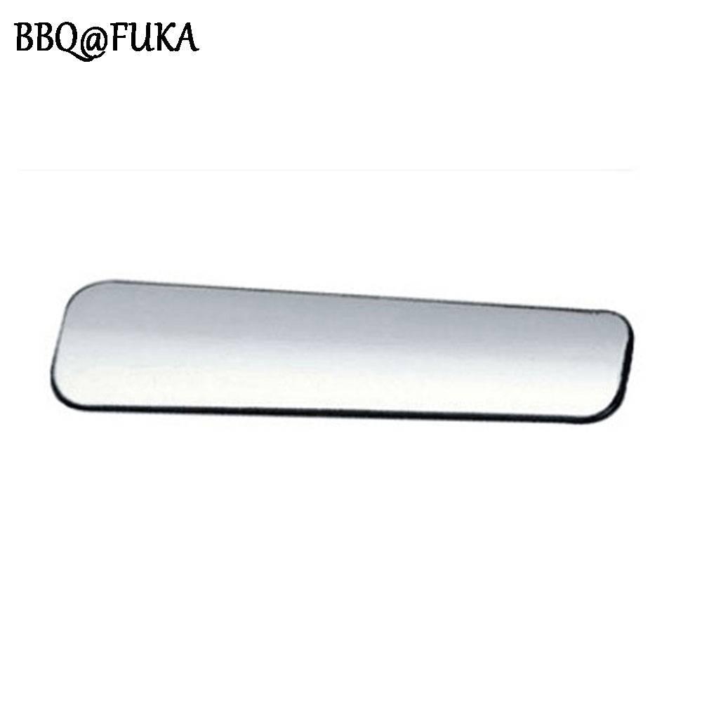 BBQ @ FUKA Auto-interieur Chrome Parking Handrem Handvat Cover ABS Trim Lovertjes Decoratie Fit Voor