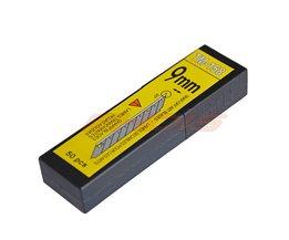 50 Stks 30 Graden 9mm Carbon Staal Snap Off Blade voor Art Mes Cutter Staal Verwisselbare Bladen Zaagbladen voor Utility CN014