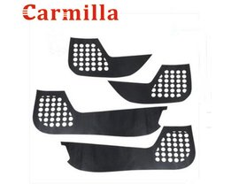 Carmilla Koolstofvezel Protector Film Innerlijke Bescherming Deur Stickers Case voor Kia Sportage Kx5 KX 5 QL 2016Auto Sticker