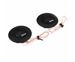 Gepaarde LABO LB-GY108A Auto Speaker Automobiel Dome Geluid Muziek Tweeter 91dB Hoge Gevoeligheid 100 W Uitgangsvermogen