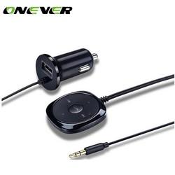 MyXL Onever Bluetooth 4.0 Draadloze Muziek Ontvanger 3.5mm Adapter Handsfree Auto Kit AUX Speaker 3.5mm Jack voor Auto Luidspreker Charger