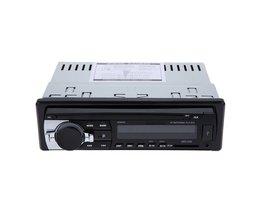 Auto Stereo Bluetooth Radio Audio Player Ontvanger In-Dash FM Aux Input WMA WAV Mp3-speler met SD/Usb-poort